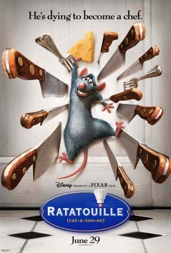 La Troškinys / Ratatouille (2007) [DVDRip] Komedija, šeimai